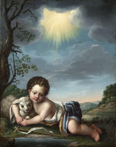 Johannes der Täufer als Knabe, Johann Ludwig Ernst Morgenstern