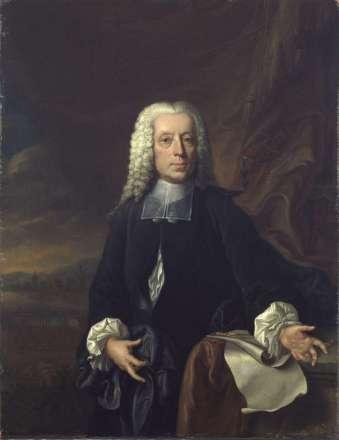 Porträt des Johann Friedrich Armand von Uffenbach
